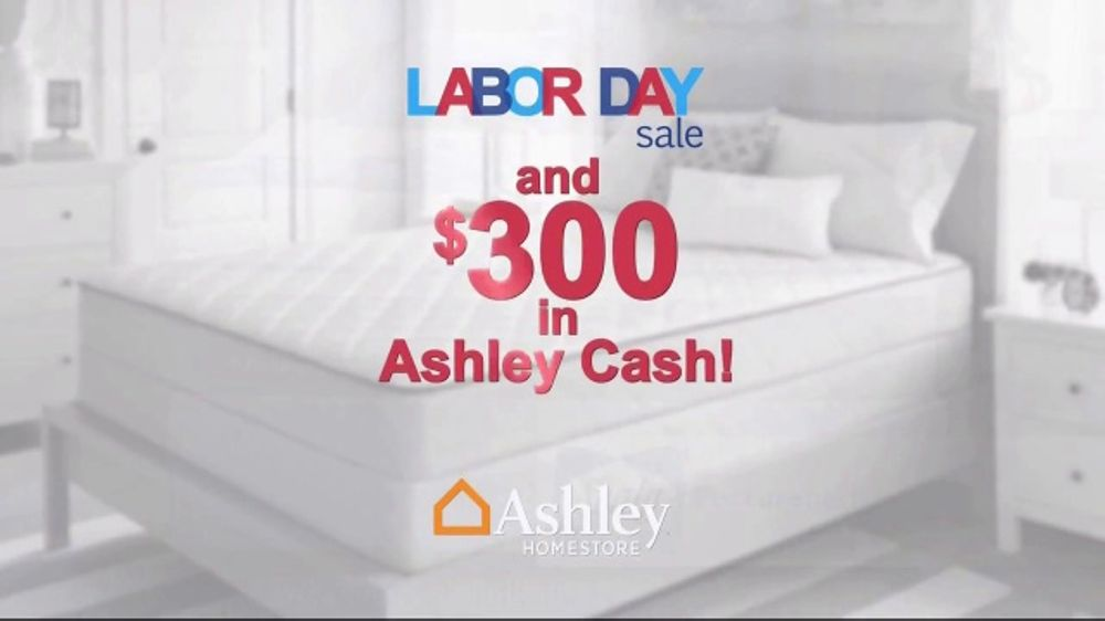 Ashley Homestore Labor Day Sale Tv Commercial 96 Months And Ashley Cash Ispot Tv