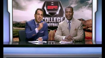 Chick-fil-A TV Spot, 'ESPN: Hafftime Reeport' Featuring Joey Galloway - Thumbnail 5