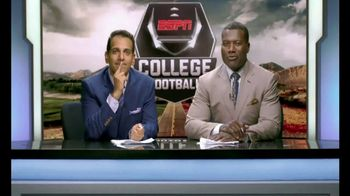 Chick-fil-A TV Spot, 'ESPN: Hafftime Reeport' Featuring Joey Galloway - Thumbnail 7