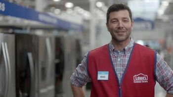 Lowe's Labor Day Savings Event TV Spot, 'The Moment: Appliances' - Thumbnail 4