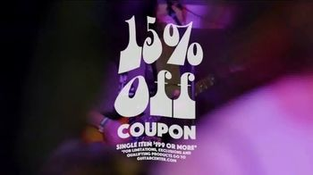Guitar Center Labor Day Savings Event TV Spot, 'Coupon' - Thumbnail 8