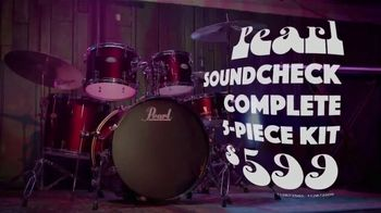 Guitar Center Labor Day Savings Event TV Spot, 'Drums and Studio Monitors' - Thumbnail 4