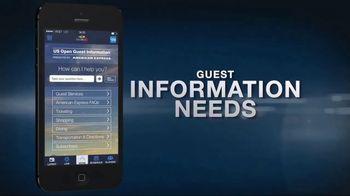 US Open App TV Spot, 'Ace Your Visit' - Thumbnail 6