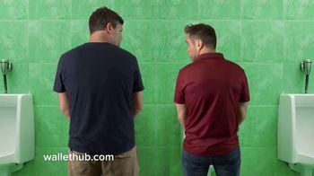 WalletHub TV Spot, \'Urinal\'