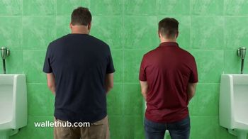 WalletHub TV Spot, 'Urinal' - Thumbnail 2