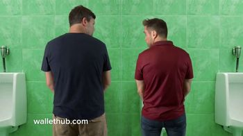 WalletHub TV Spot, 'Urinal'
