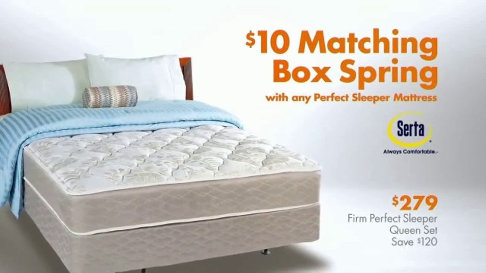 Big Lots Tv Commercial Serta Perfect Sleeper Ispot Tv
