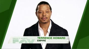 FOX TV Spot, 'Green It. Mean It: Earth Day' Featuring Terrence Howard