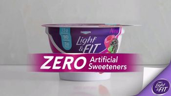Dannon Light & Fit TV Spot, 'Zero Artificial Sweeteners' - Thumbnail 7