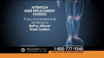 Olinde Firm TV Spot, 'Attune Knee System' - Thumbnail 1