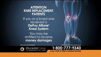 Olinde Firm TV Spot, 'Attune Knee System' - Thumbnail 2