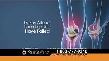 Olinde Firm TV Spot, 'Attune Knee System'