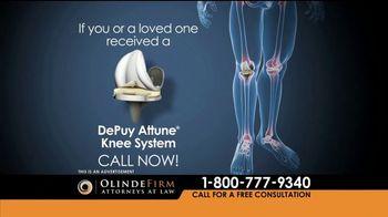 Olinde Firm TV Spot, 'Attune Knee System' - Thumbnail 6