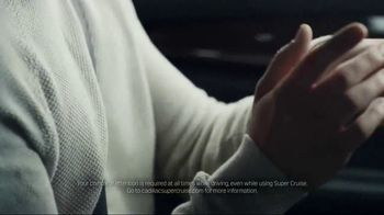 Cadillac Super Cruise TV Spot, 'Let Go: Conversation' Song by Simon Goubert - Thumbnail 5
