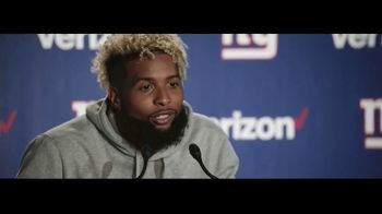 Verizon Unlimited TV Spot, 'Red Zone' Featuring Odell Beckham Jr. - 5782 commercial airings