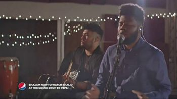 Pepsi TV Spot, 'The Sound Drop: Alessia Cara & Khalid' Feat. Sway Calloway - 26 commercial airings