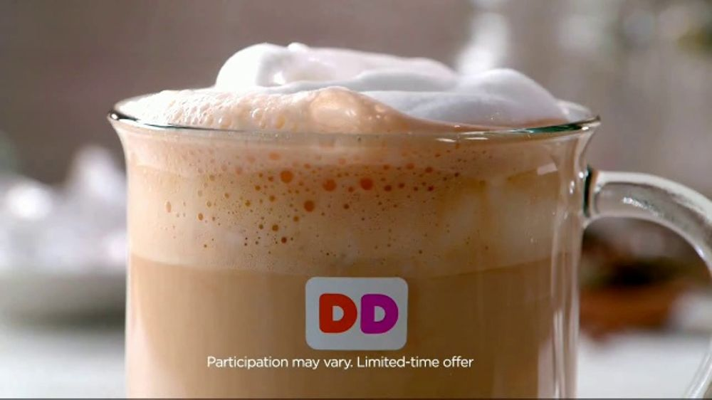 Dunkin' Donuts Latte TV Commercial, 'Enjoy the Taste of Fall' - Video