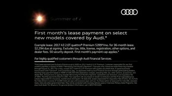 Audi Summer of Audi Sales Event TV Spot, 'Melt' [T2] - Thumbnail 7