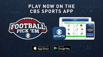 CBS Sports App TV Spot, 'Football Pick 'Em' - Thumbnail 8