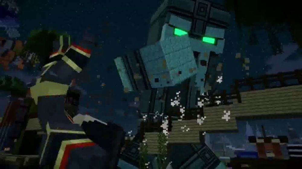 minecraft story mode season two tv commercial craft your own