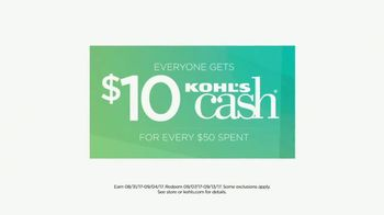 Kohl's Labor Day Weekend Sale TV Spot, 'Tees, Sneakers and Electrics' - Thumbnail 7