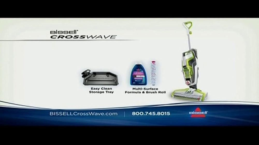 Bissell Crosswave Tv Commercial Vacuums And Washes