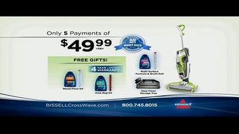 Bissell CrossWave TV Spot, 'Vacuums and Washes Simultaneously' - Thumbnail 9