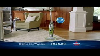 Bissell CrossWave TV Spot, 'Vacuums and Washes Simultaneously' - Thumbnail 6