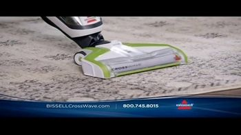 Bissell CrossWave TV Spot, 'Vacuums and Washes Simultaneously' - Thumbnail 7