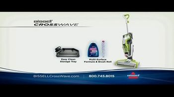 Bissell CrossWave TV Spot, 'Vacuums and Washes Simultaneously' - Thumbnail 8