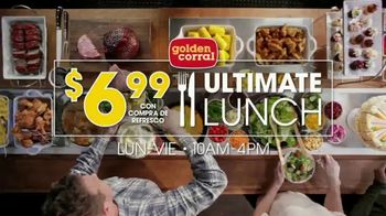 Golden Corral Ultimate Lunch TV Spot, 'Ahorra' [Spanish] - 411 commercial airings