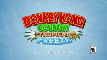 Donkey Kong Country: Tropical Freeze TV Spot, 'Disney Channel: Adventure' - Thumbnail 8