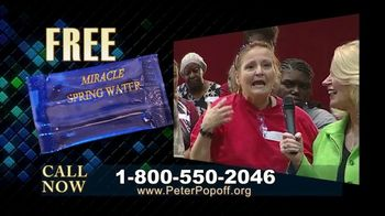 Peter Popoff Ministries TV Spot, 'Miracle Spring Water'