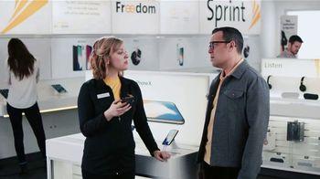 Sprint TV Spot, 'Sprintern: iPhone X Face ID' - 2566 commercial airings