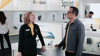 Sprint TV Spot, 'Sprintern: iPhone X Face ID' - Thumbnail 1