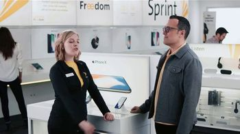 Sprint TV Spot, 'Sprintern: iPhone X Face ID' - Thumbnail 2