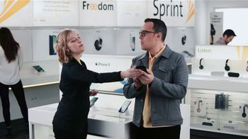 Sprint TV Spot, 'Sprintern: iPhone X Face ID' - Thumbnail 5