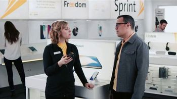 Sprint TV Spot, 'Sprintern: iPhone X Face ID' - 2566 commercial airings