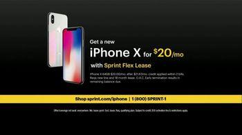 Sprint TV Spot, 'Sprintern: iPhone X Face ID' - Thumbnail 8