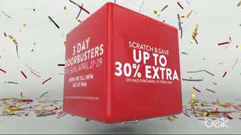 Belk Biggest One Day Sale TV Spot, 'Scratch & Save' - Thumbnail 3