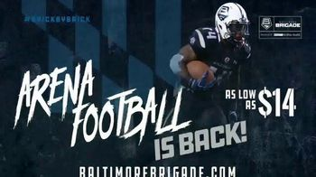 Baltimore Brigade TV Spot, 'Arena Football Is Back' - Thumbnail 4