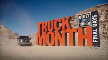 Ford Truck Month TV Spot, 'Final Days: 2018 F-150'