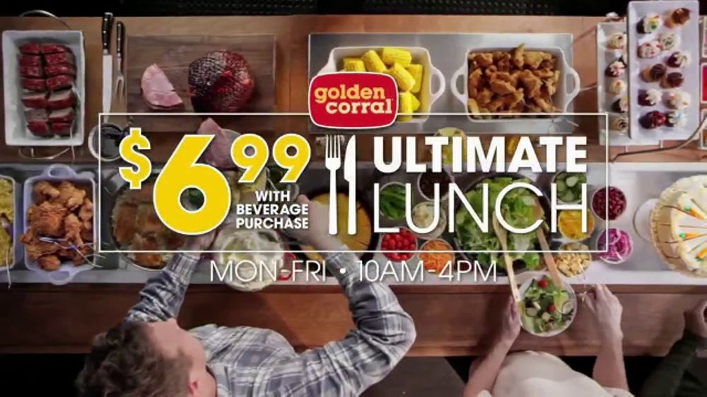 All The Pasta You Can Eat With Olive Garden S Never Ending: Golden Corral Ultimate Lunch TV Commercial, 'Off The Hook