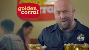 Golden Corral Ultimate Lunch TV Spot, 'Off the Hook' - Thumbnail 10