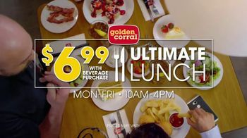 Golden Corral Ultimate Lunch TV Spot, 'Off the Hook' - Thumbnail 3