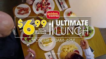 Golden Corral Ultimate Lunch TV Spot, 'Off the Hook' - Thumbnail 4