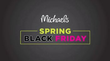 Michaels Spring Black Friday TV Spot, 'Doorbusters Every Day' - Thumbnail 2