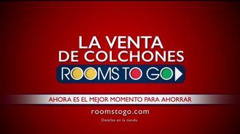 Rooms to Go Venta de Colchones TV Spot, 'Base ajustable' [Spanish] - Thumbnail 10