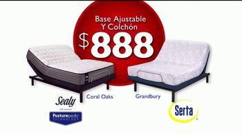Rooms to Go Venta de Colchones TV Spot, 'Base ajustable' [Spanish] - Thumbnail 6
