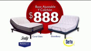 Rooms to Go Venta de Colchones TV Spot, 'Base ajustable' [Spanish] - Thumbnail 7